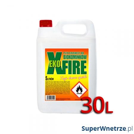Bioetanol EkoXfire 30l - (cena 7,3zł/1litr) 5900190006736x30