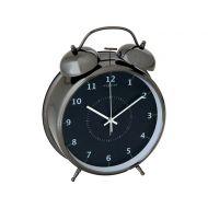 Budzik 9 cm NEXTIME Wake up czarny