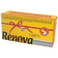 Chusteczki wyciągane 80 szt. RENOVA Red Label żółte