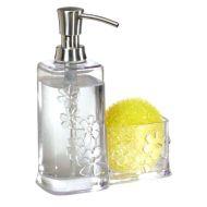 Dozownik do mydła z pojemnikiem InterDesign Blumz