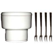 Mini zestaw do czekoladowego fondue Sagaform Oval Oak