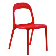Krzesło Plane czerwone