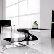 Ława szklana King Bath Tonin czarna