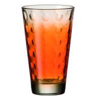 Szklanka 0,3 L pomarańczowa Leonardo Optic