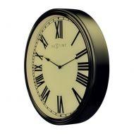 Zegar ścienny 25,5x35 cm Nextime Houdini brązowy