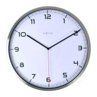 Zegar ścienny 35 cm Nextime Company biały
