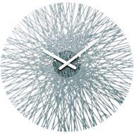 Zegar ścienny Koziol Silk antracytowy