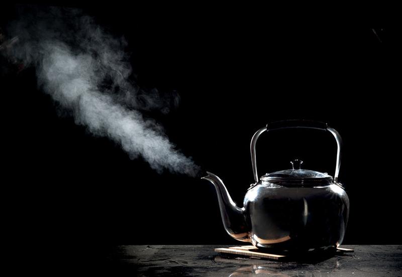 Klasyczny czajnik gazowy