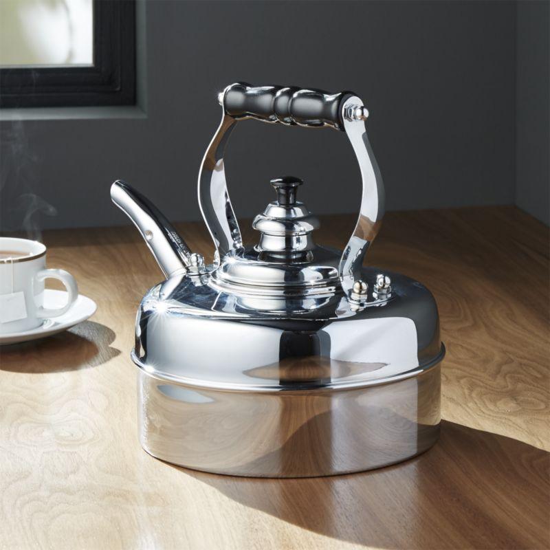 Stalowy czajnik gazowy
