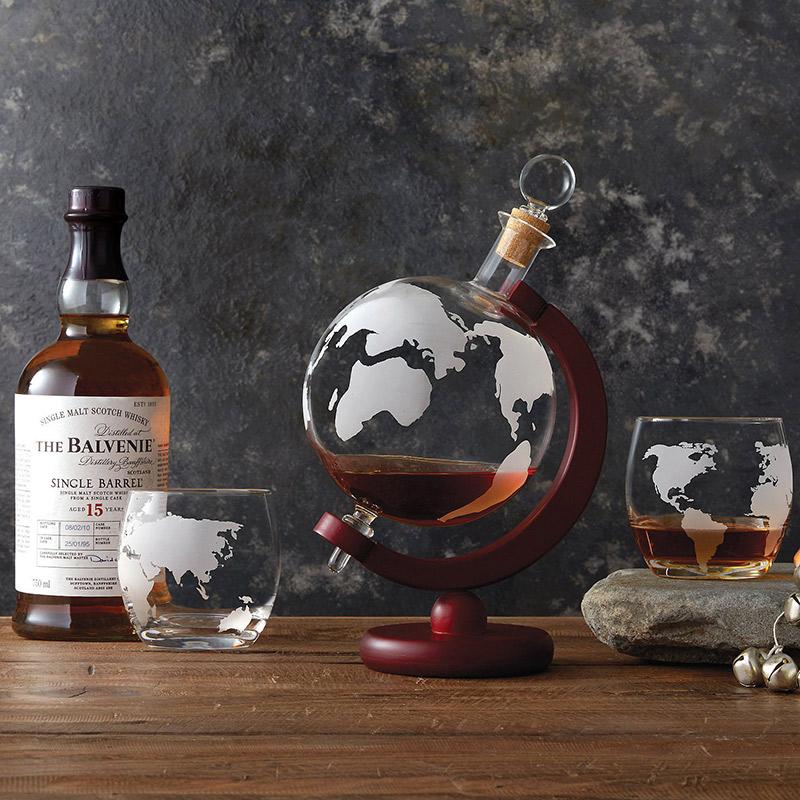Nowoczesne szklanki do whisky