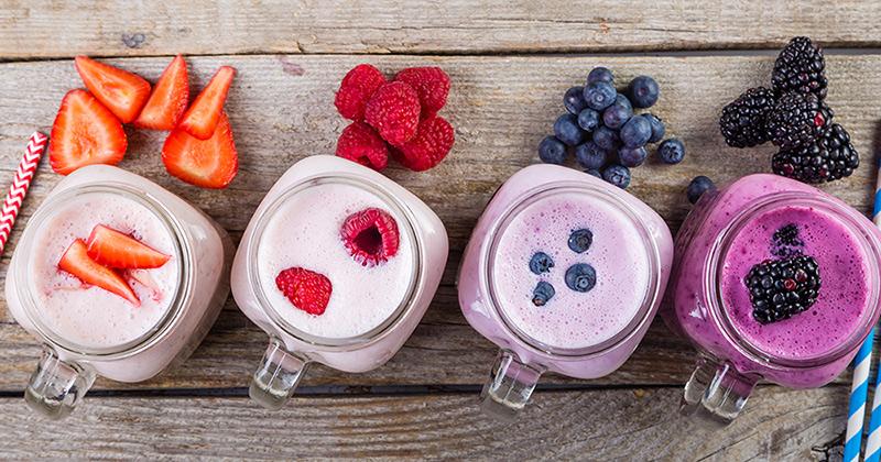 smoothie owocowe w słoiczkach