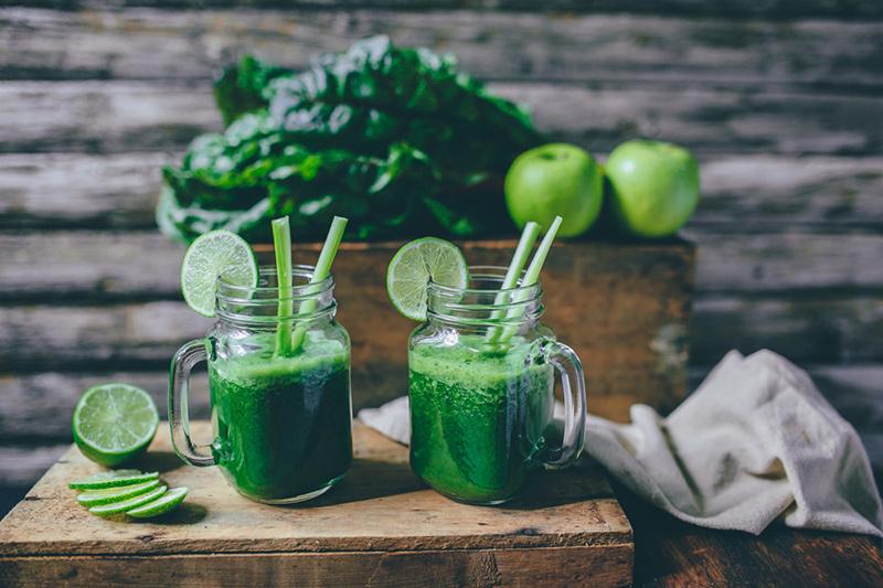 zielony koktajl warzywny