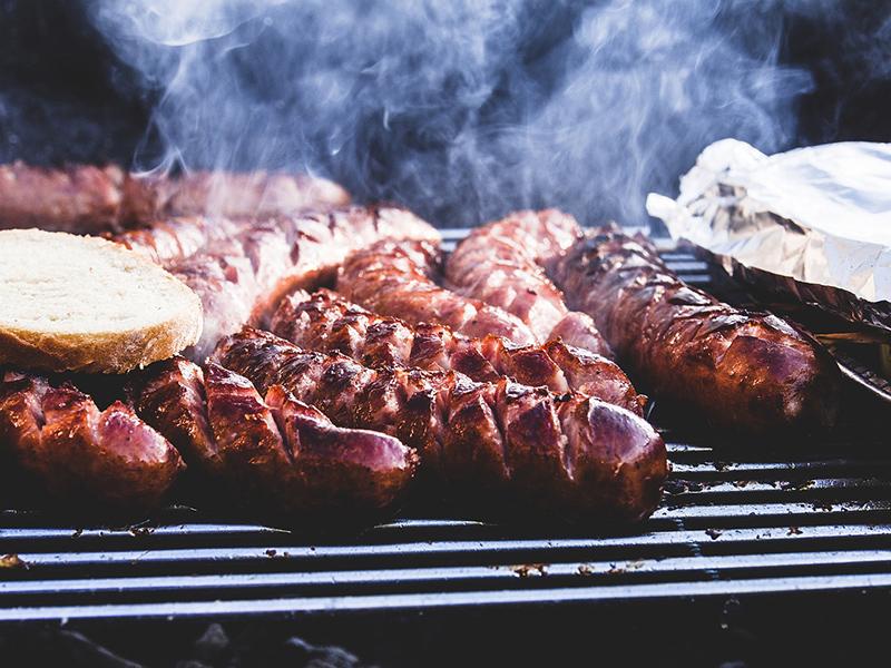 Kiełbaski z grilla