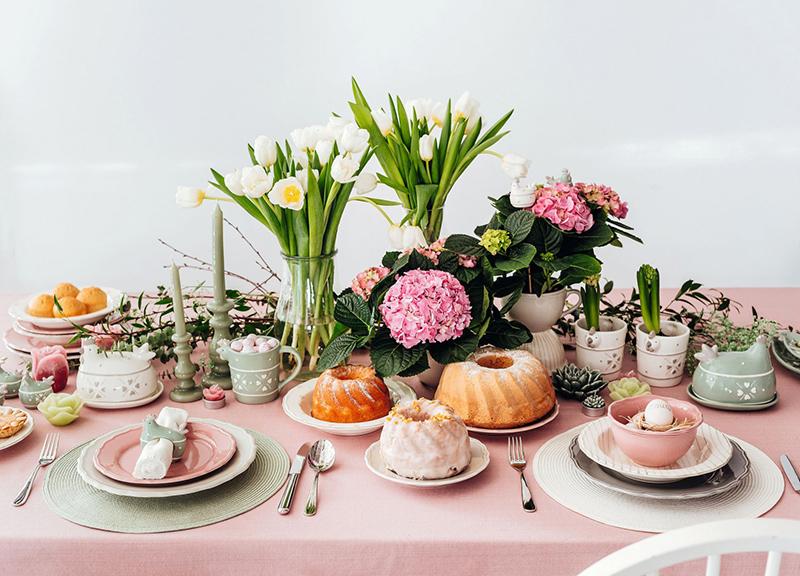 Wielkanocny stół - jak go udekorować
