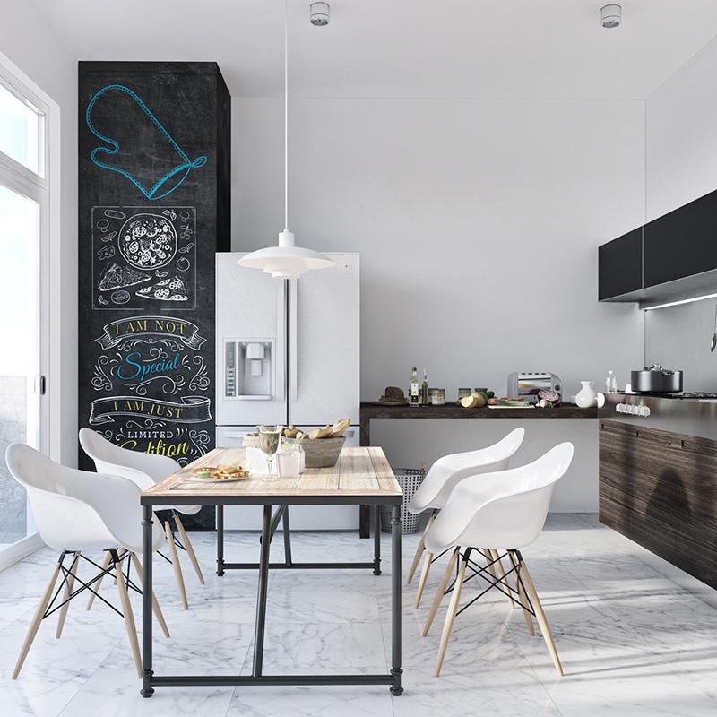 Nowoczesne, ładne krzesła do kuchni i jadalni