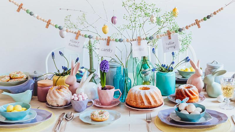 Wielkanocny stół