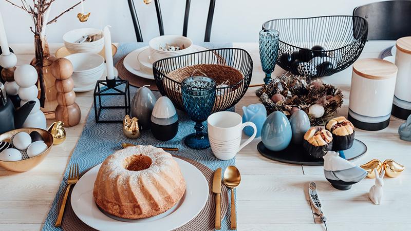 Wielkanocny stół - jakie nakrycia na wielkanocny stół