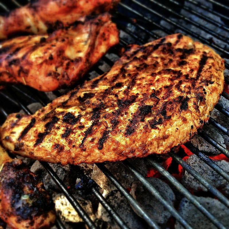 Grillowanie - mięso z grilla