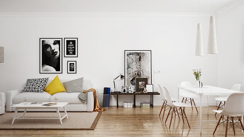 Ładne krzesła do salonu