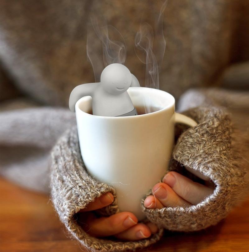 kubek z zaparzaczem do herbaty