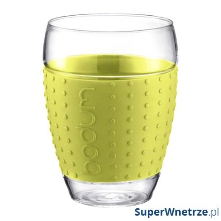 Komplet 2 szt. szklanek 0,45 l Bodum Pavina zielone BD-11166-565
