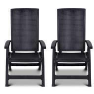 2x Krzesło regulowane Montreal : Kolor - grafit