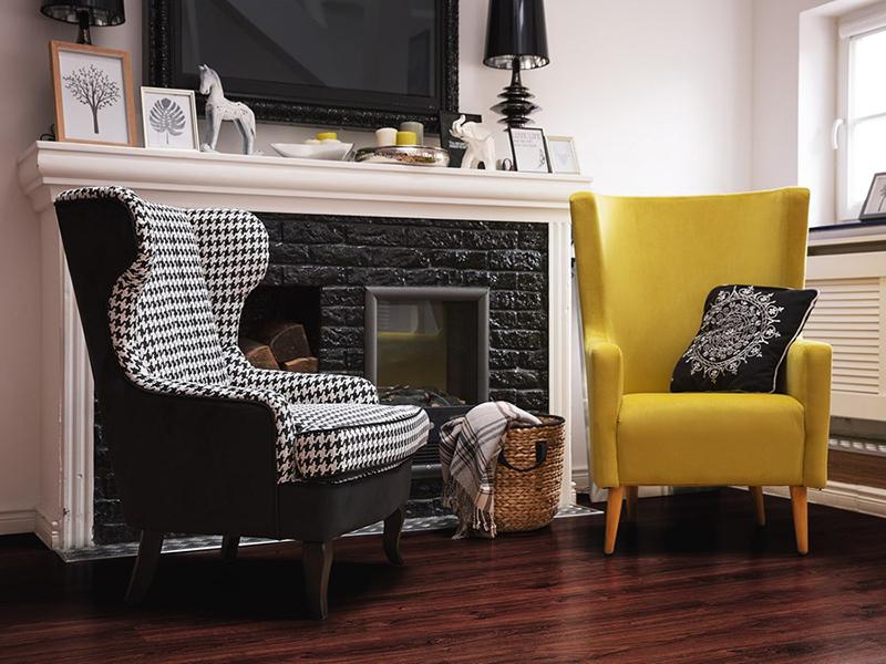 Wygodne fotele do salonu
