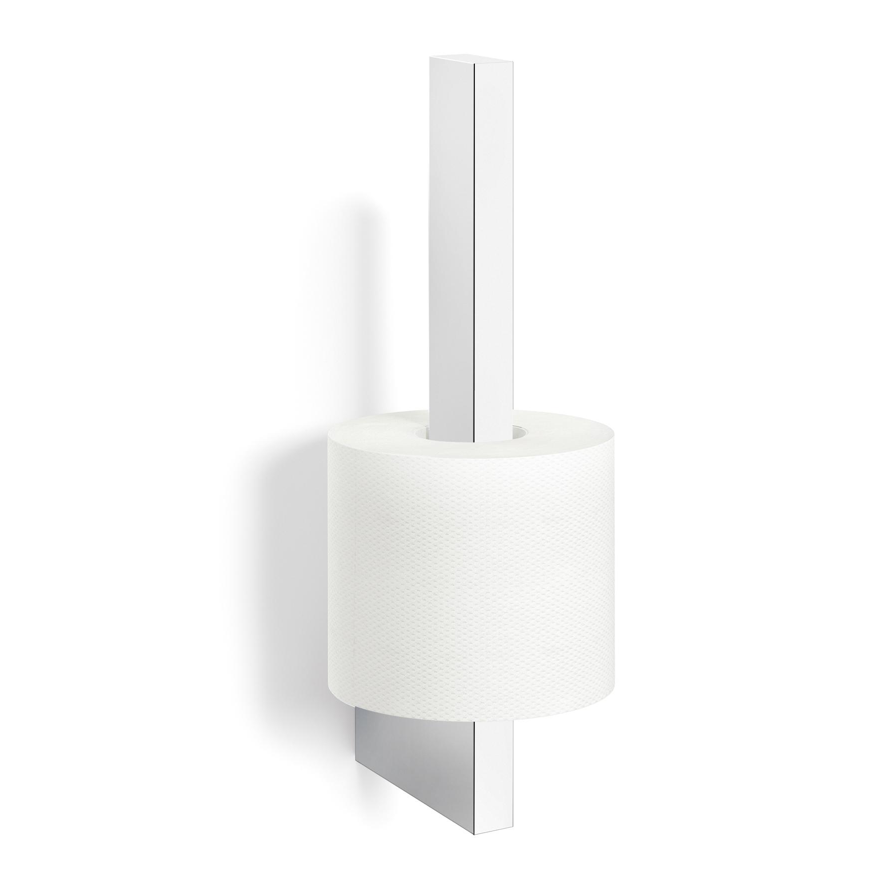 Uchwyt na zapasowy papier toaletowy 25cm Linea Zack stal polerowana