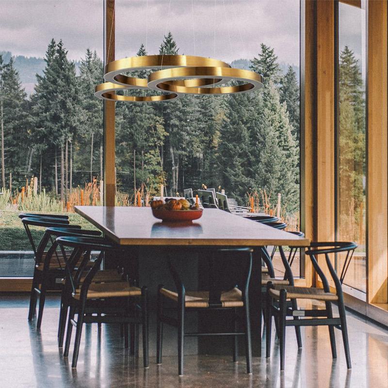 Lampy wiszące do jadalni Circle Step into Design