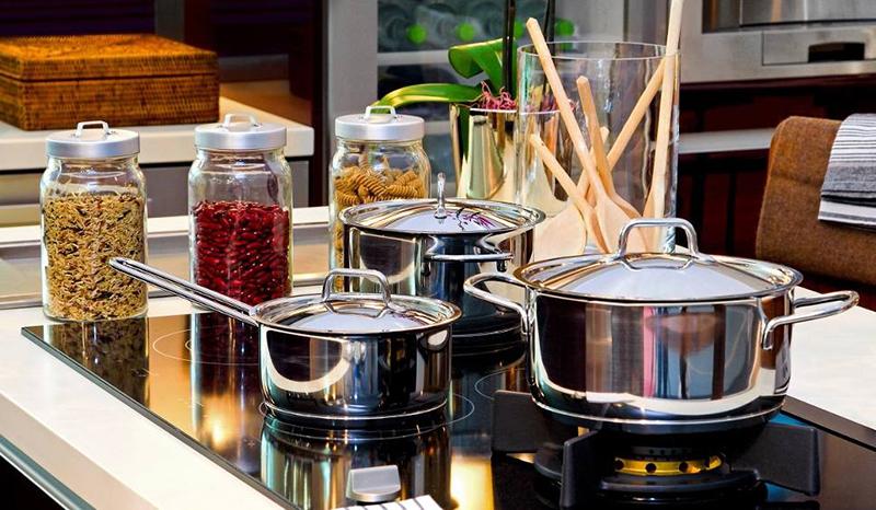 Garnki do kuchni ze stali
