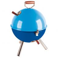 Grill okrągły Contento Mini BBQ niebieski
