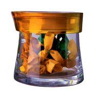 Pojemnik hermetyczny 0,7 l Casa Bugatti Glamour pomarańczowy