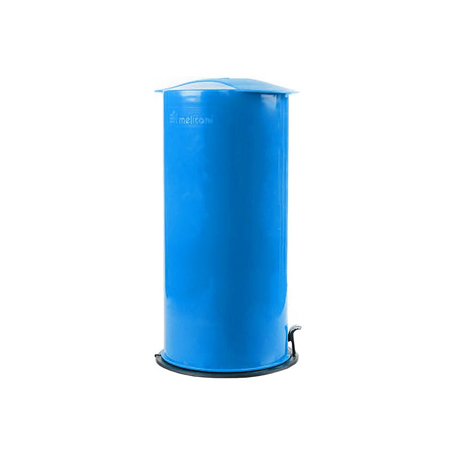 Zgniatarka do butelek, puszek i kartonów Omega Meliconi niebieska