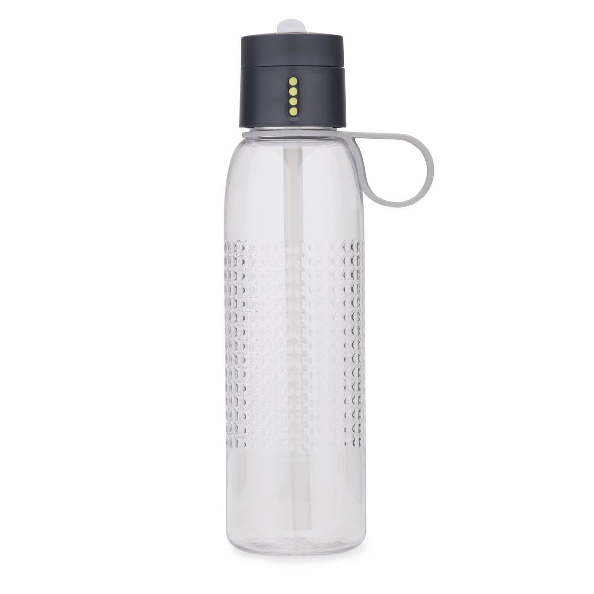 Butelka na wodę 0,75l Joseph Joseph Dot Active szara