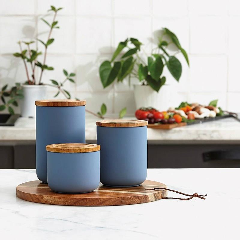Pojemniki do kuchni ceramiczne