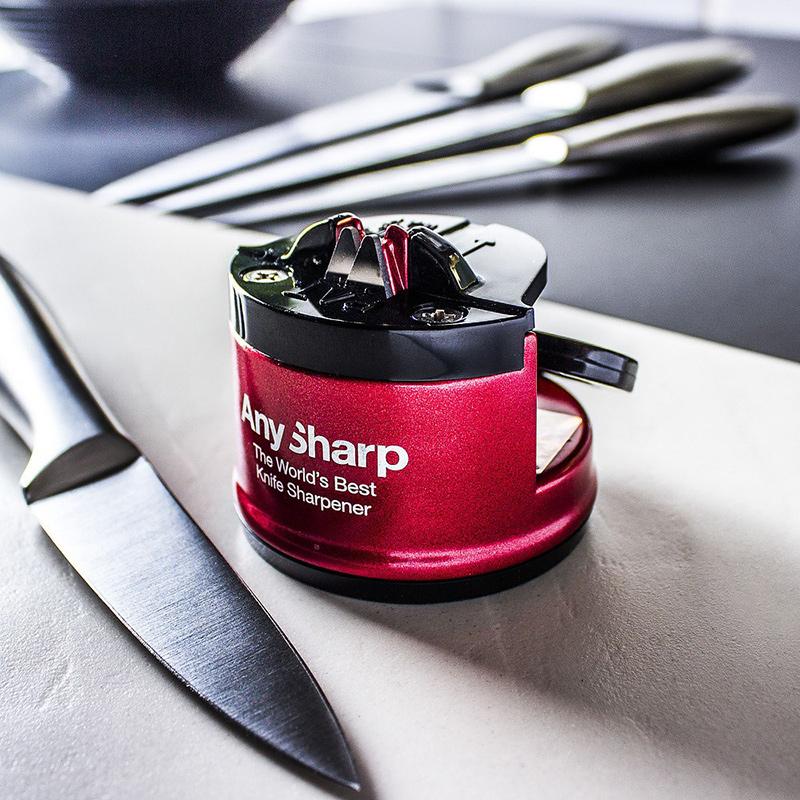 Ostrzałka do noży AnySharp Pro czerwona
