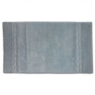 Bawełniany dywanik łazienkowy 100x60 cm Kela Landora szary