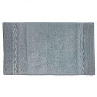 Bawełniany dywanik łazienkowy 120x70 cm Kela Landora szary