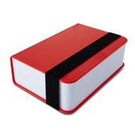 Lunch box + książka Black+Blum czerwony