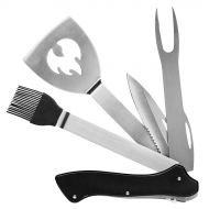 BBQ Multi tool 5-w-1 29 cm Sagaform czarno-srebrny