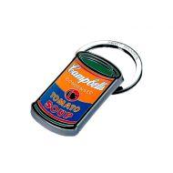 Brelok Troika A. Warhol CAMPBELL'S pomarańczowo zielony