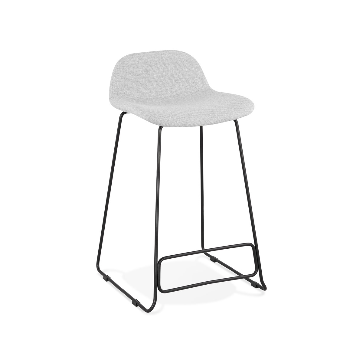 Hoker Kokoon Design Vancouver Mini jasnoszary nogi czarne