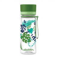 Butelka na wodę 0,35 l Aladdin Aveo zielona grafika
