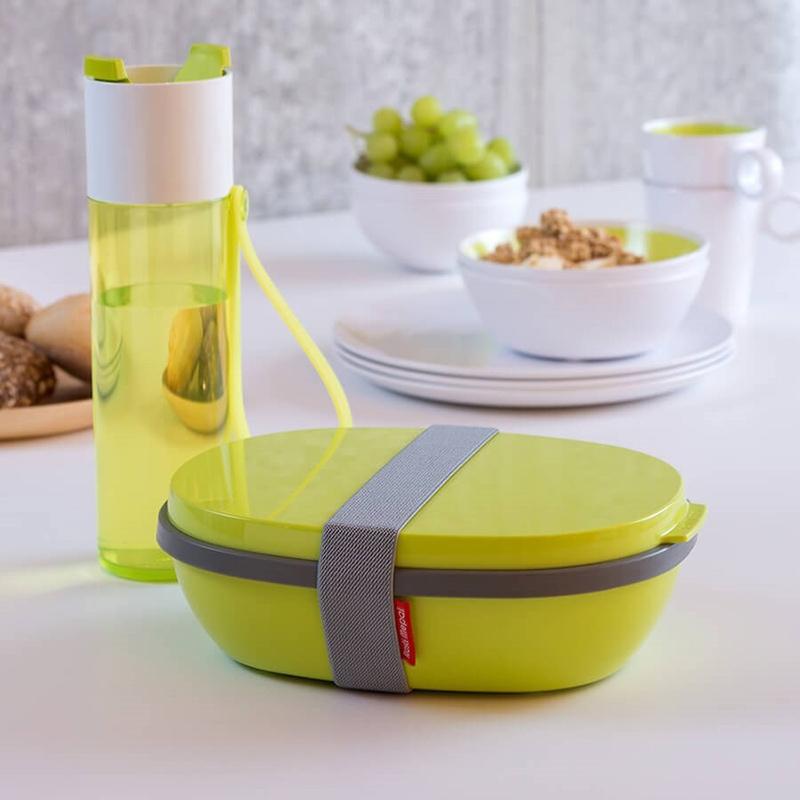 zestaw do szkoły dla dzieci: lunchbox i butelka na wodę