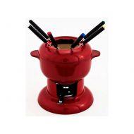 Zestaw fondue 23x20x19cm Chasseur Fondue Lunch czerwony