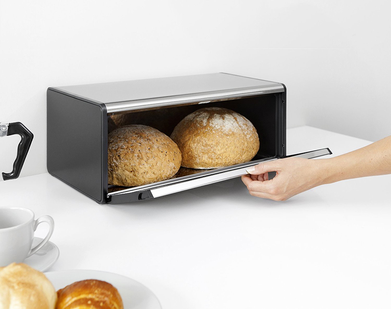 metalowy chlebak brabantia