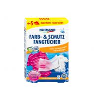 Chusteczki wyłapujące kolory 15 szt. + 5 szt. gratis Heitmann