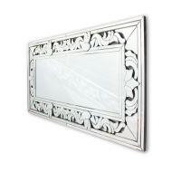 Claris - prostokątne lustro dekoracyjne w ramie lustrzanej