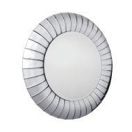 Corrao - okrągłe lustro dekoracyjne w lustrzanej ramie