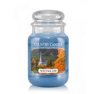 Country Candle - New England - Duży słoik (652g) 2 knoty